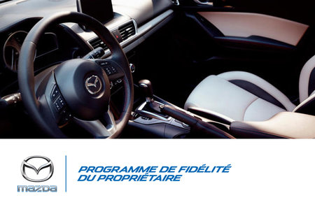 Programme de fidélité du propriétaire Mazda