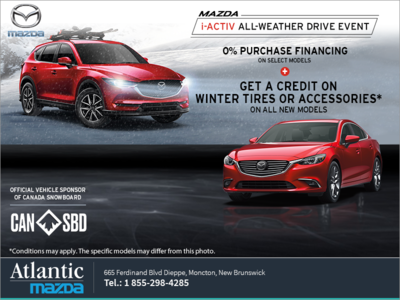 Mazda i-ACTIV All-Weather Drive Event