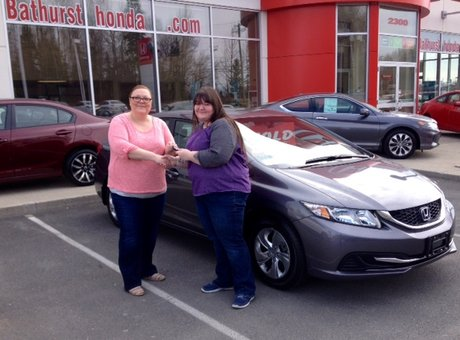 Tammy was absolutely amazing and fun to deal with. Very glad that I choose to buy a car from Bathurst Honda.