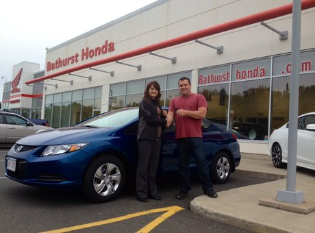 Our experience at Bathurst Honda was great! Julie & Matthew Morton