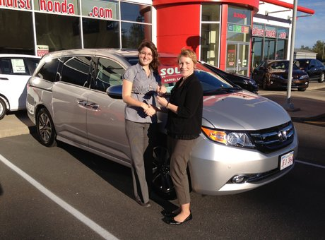 Aside from being friendly and welcoming, Rachel has an in-depth knowledge of Honda products and services! Heather Branch