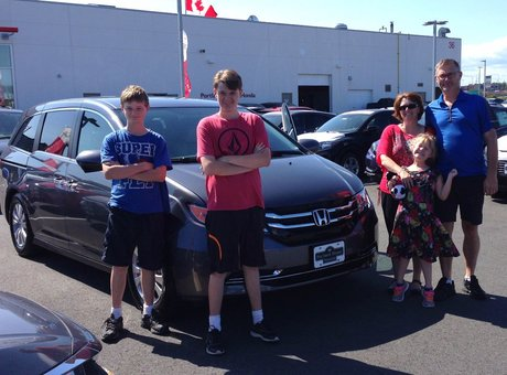 My family and I really enjoyed our experience at Portland Street Honda.