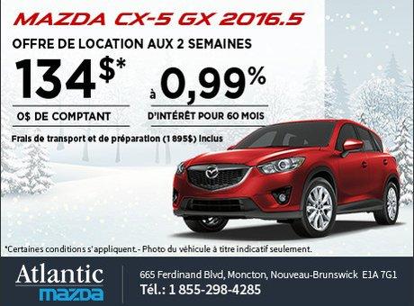 Louez le Mazda CX-5 2016.5 aujourd'hui!