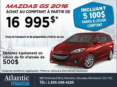 Mazda5 2016 en rabais