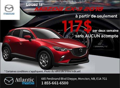 Louez la Mazda CX-3 2018