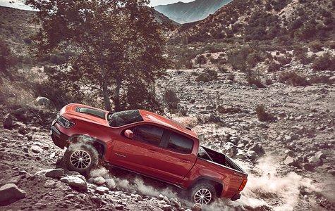 Chevrolet Colorado ZR2: a more muscular Chevrolet Colorado
