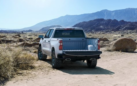 The 2019 Chevrolet Silverado unveiled at the North American International Auto Show