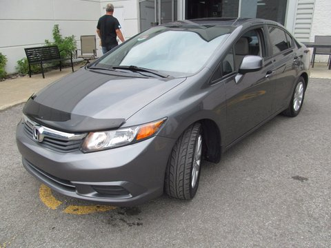 Pre Owned 2012 Honda Civic Ex Toit Bluetooth Technologie Econ In