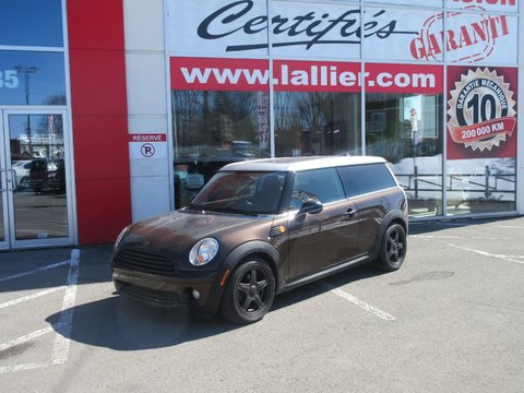 2009 mini cooper clubman intrieur en cuir bluetooth