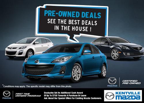 Pre-Owned Deals at Kentville Mazda!