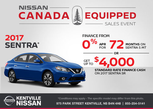 Finance the 2017 Nissan Sentra Today!