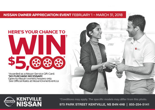 The Nissan Owner Appreciation Event