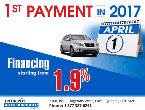 Entrepot Auto Durocher >> Pay Only In April Entrepot Auto Durocher Promotion In Laval