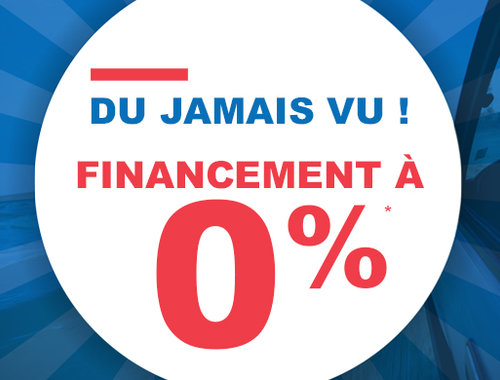 Financement à 0%!