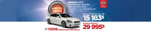 Nissan Maxima 2013 DÉMO à vous pour 29 995$ (Copie)