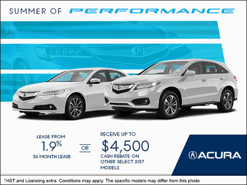 Acura's Monthly Sales Event