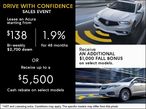 Drive With Confidence Sales Event