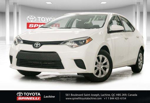 Toyota Corolla UN SEUL PROPRIO 2014