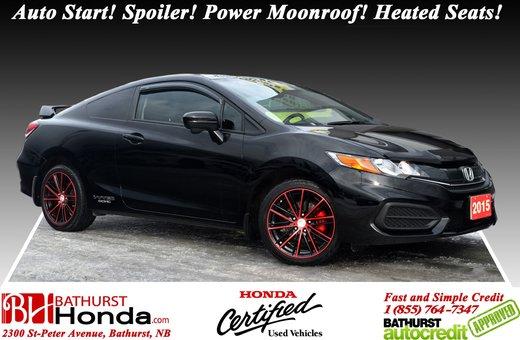 New 2015 Honda Civic Si Coupe