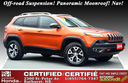 Jeep Cherokee Trailhawk - AWD 2016