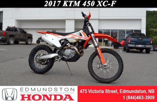 2017 KTM 450 XC-F