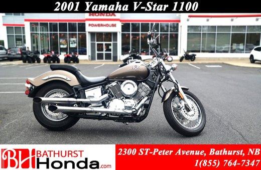 Used 2001 Yamaha V-Star 1100 at Edmundston Honda   #B-