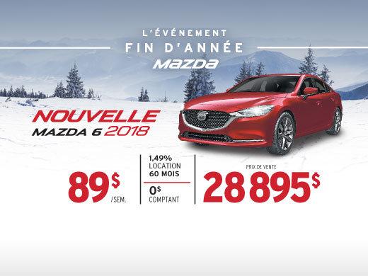 L'ÉVÉNEMENT FIN D'ANNÉE AU GROUPE BEAUCAGE MAZDA - MAZDA6!