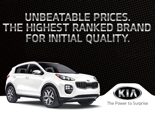 Unbeatable Prices - The Highest Ranked Brand for Initial Quality