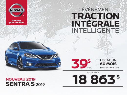 La nouvelle Sentra 2019 !