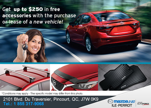 Get up to $250 in Free Accessories!