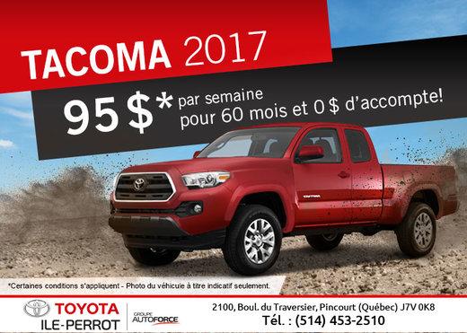 Le Tacoma 2017 en vente !