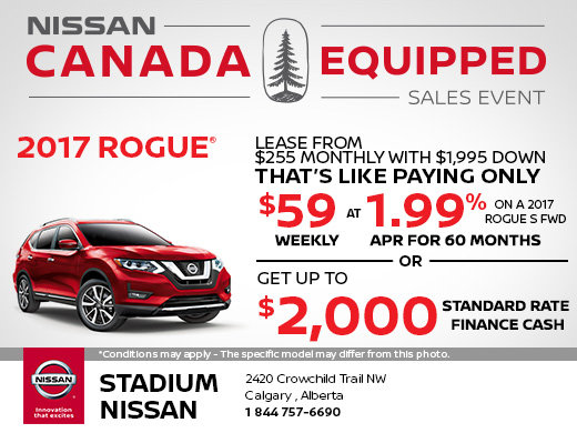 Save on the 2017 Nissan Rogue Today!