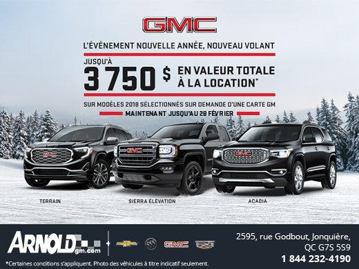 Nouvelle Année, Nouveau Volant GMC!!
