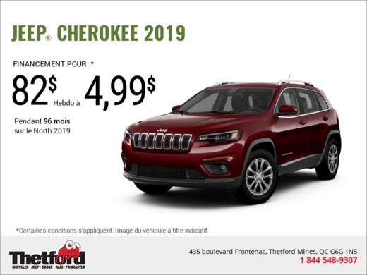 Conduisez un Jeep Cherokee 2019