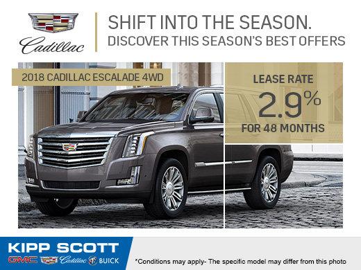2018 Cadillac Escalade 4WD!
