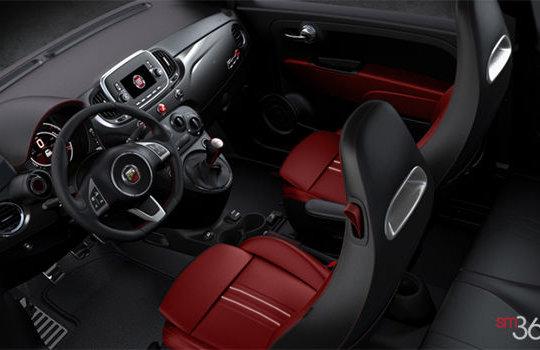 Fiat 500 abarth 2017 vendre pr s de st nicolas et ste for Interieur 500 abarth