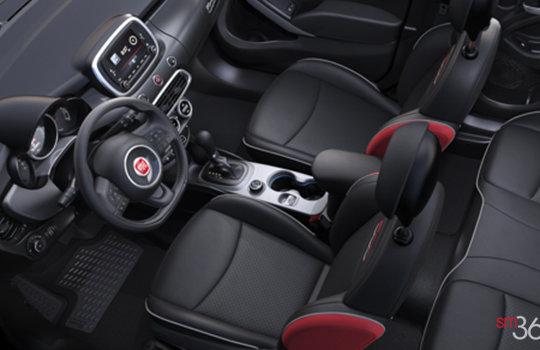 Fiat 500x lounge 2017 vendre pr s de st nicolas et ste for Interieur 500x