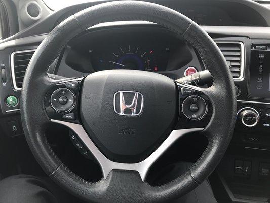 Honda Civic Sedan EX 2014 TOIT OUVRANT (11/15)