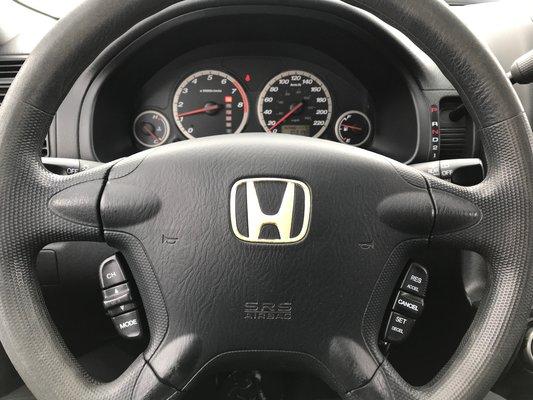 Honda CR-V EX 2005 BAS KM (15/18)