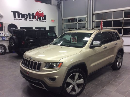 Jeep GRAND CHEROKEE LIMITED 129$SEM.TOUT INCLUS 2015