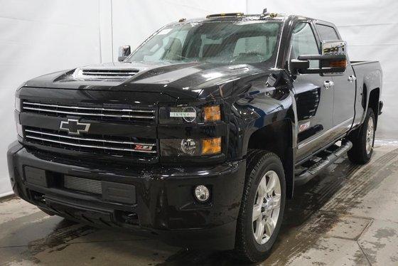 Chevrolet Silverado 2500HD LTZ, Duramax, Crew Cab 2018 GBA - Noir neuf - 81718.0$ | 440 ...