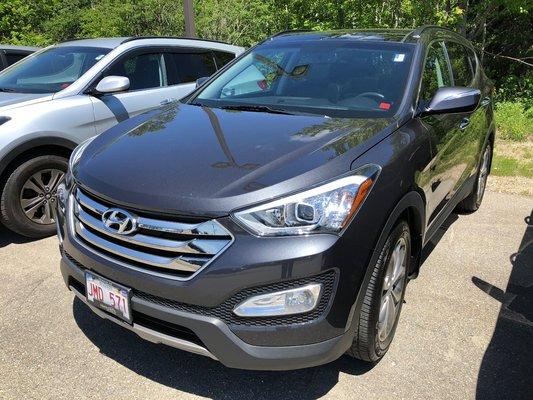 2016 Hyundai Santa Fe Sport Limited (1/14)