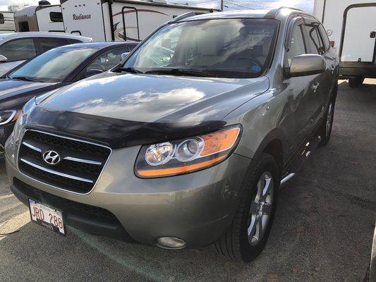 2009 Hyundai Santa Fe Limited (1/13)