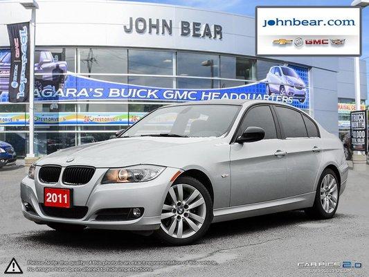 2011 BMW 323 EXECUTIVE PKG WITH 17 ALLOY WHEELS