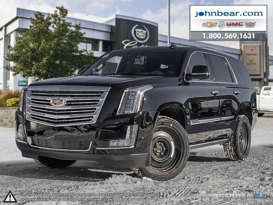 New 2018 Cadillac Escalade Platinum At John Bear Hamilton 4196 18