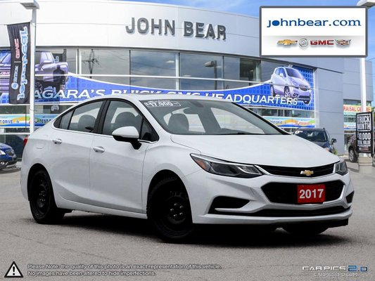 2017 Chevrolet Cruze LT NEW WINTER TIRES AND RIMS INCLUDED!!!!