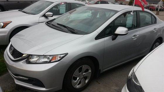 2013 Honda Civic LX (A5) ***réservé avec dépôt***