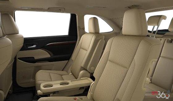 2015 Toyota Highlander Limited Interior Car Interior Design
