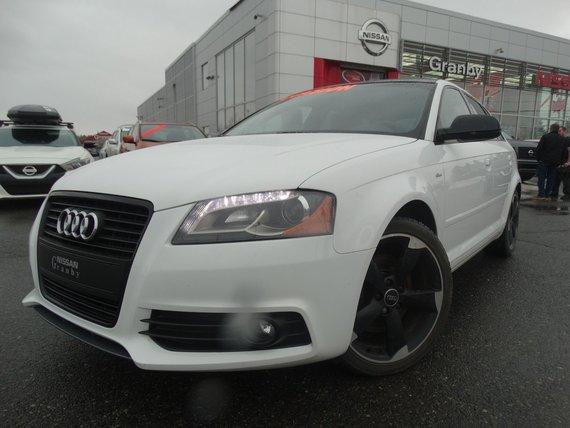 Audi A3 2013 TFSI/SLINE/4X4/CUIR/TOIT PANORAMIQUE/BLUETOOTH