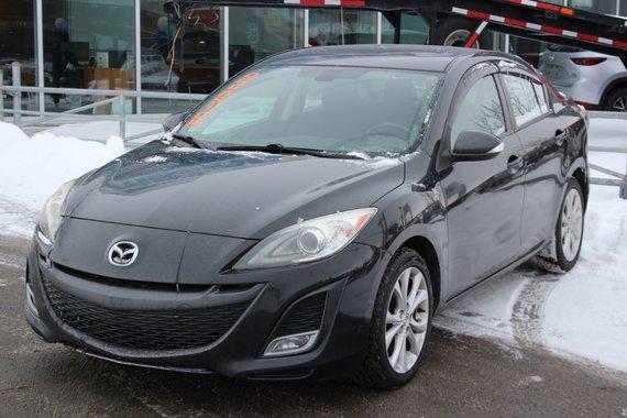 Mazda Mazda3 2010 GT*TOIT*AC*BLUETOOTH*CRUISE*SIEGES CHAUFF*AUX